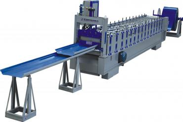 Joint Hidden Wall Panel Roll Forming Machine
